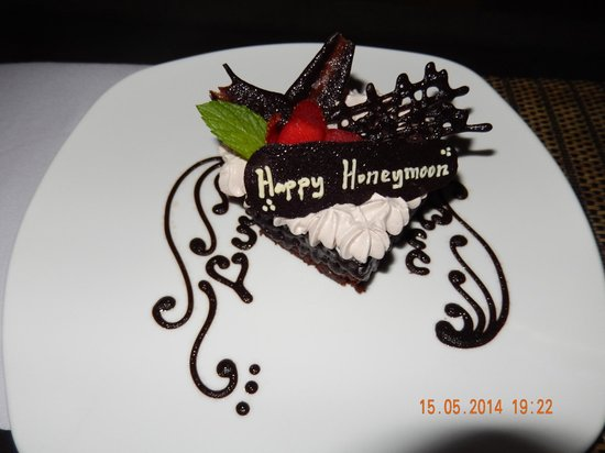Kayumanis Sanur Private Villa & Spa: Complimentary Cake