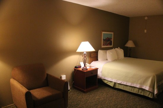 Days Inn Sonora Devils River: Large room with King Bed