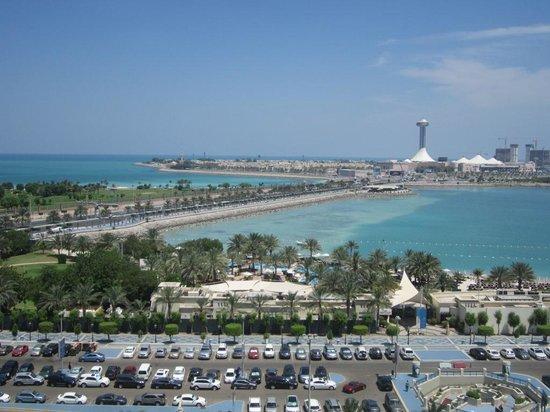 La Corniche: View over to the Heritage Village