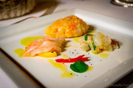 Tre Cristi Enoteca Ristorante: Seafood platter