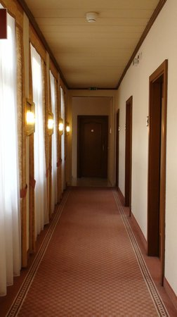 Hotel City Central: Hallway