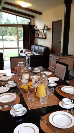 Reflection Lodge: Breakfast