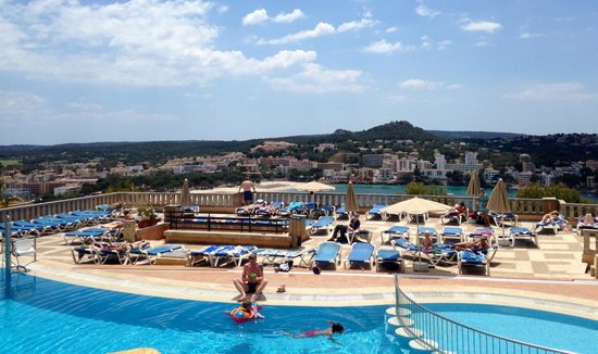 Club Santa Ponsa: View from the bar