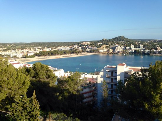 Club Santa Ponsa: View from the pool