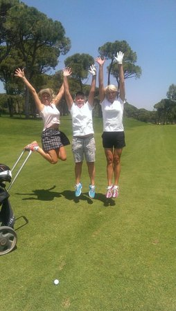 Sueno Hotels Golf Belek : Fun at the course