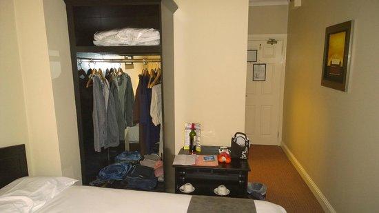 The Belvedere Hotel: Closet