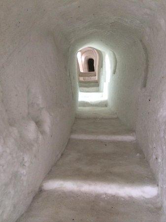 Tannforsen : коридор ледяного отеля