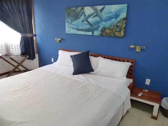 Hotel Silberstein: Huge comfy bed