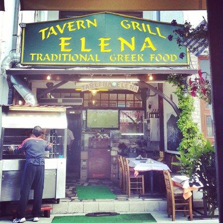 Skala Panagia, Grécia: Tavern Grill Elena