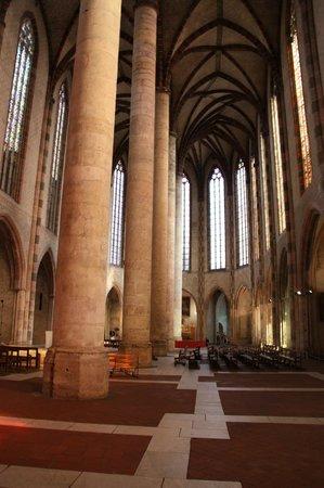 Église des Jacobins : Колонны