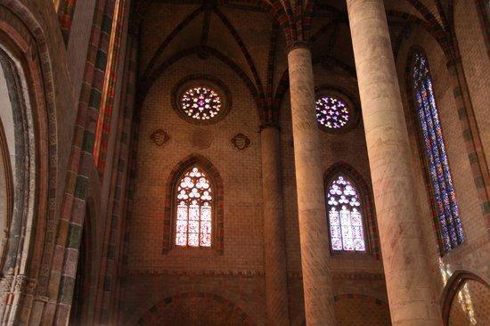 Église des Jacobins : Внути