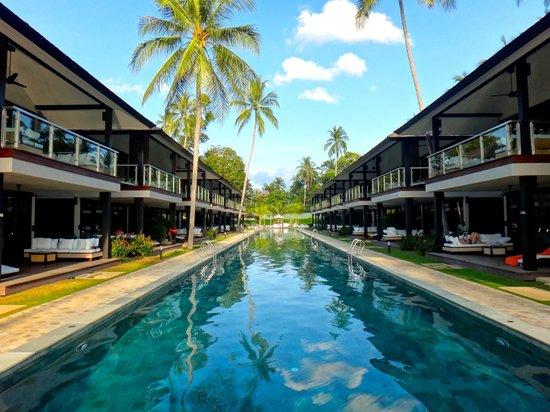 Nikki Beach Resort Koh Samui : プールです。