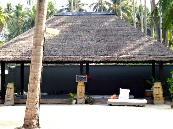 Nikki Beach Resort & Spa : スパの場所です。