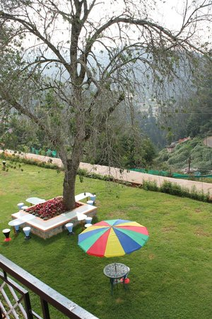 Treebo Yantra Leisures: View from the 1st floor room