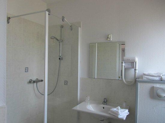 Hotel Les Atlantes: Salle de bain