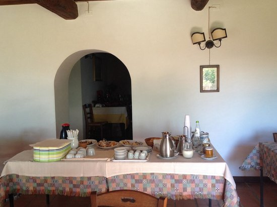 Agriturismo San Cristoforo : Colazione