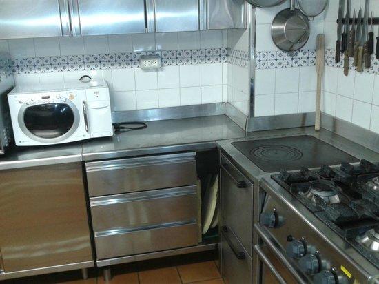 Chalet Maso Doss: cucina attrezzata