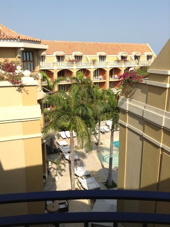 Sofitel Legend Santa Clara: View from my room 1