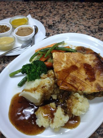 Liberty Kitchen: Steak Guinness & Mushroom Pie