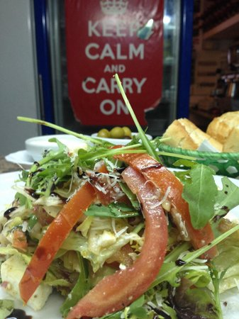 Liberty Kitchen: Tomato & Feta Salad