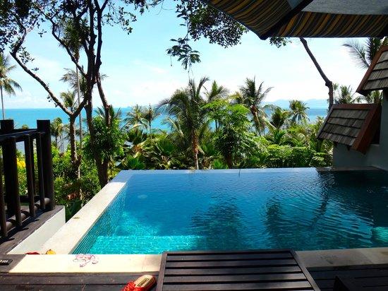 Four Seasons Resort Koh Samui Thailand: お部屋のプライベートプールです。