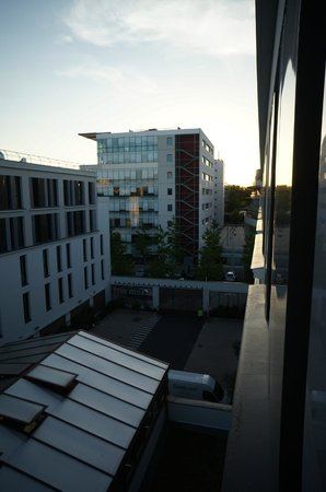Appart'City Angers: view from 5th floor