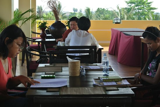 Residence Indochine D'angkor : Breakfast