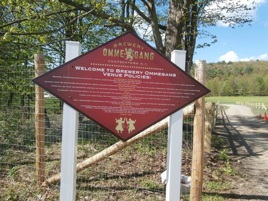 Brewery Ommegang: Plenty of Free Parking