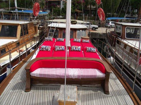 Le Conge: Deck lounges
