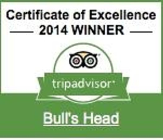 The Bull's Head: Two years running now!