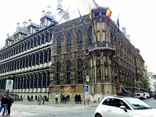 Ghent Town Hall (Stadhuis): Ghent Town Hall