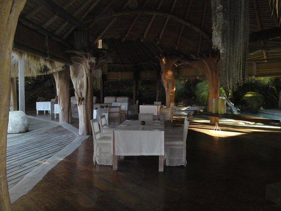 North Island Seychelles: restaurent