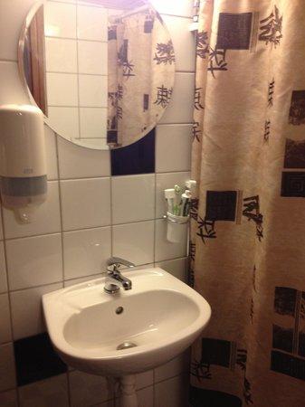 Loginn Hotel : Bagno stanza 205