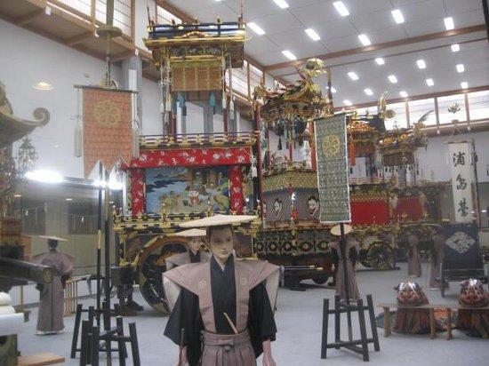 Takayama Festival Floats Exhibition Hall: Festival floats