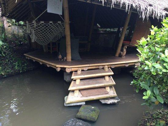 Bamboo Village Le Sabot Ubud: Entering Leaf