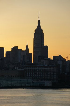 W Hoboken: sunrise