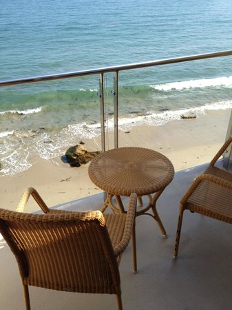 Balcony View, Malibu Beach Inn, Malibu, CA.