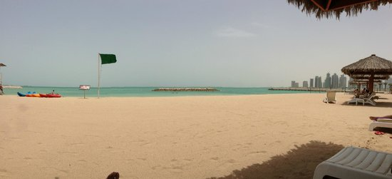 InterContinental Doha: La vista dalla spiaggia