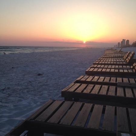 Panama City Beach: pCB outside Palm Grove hotel