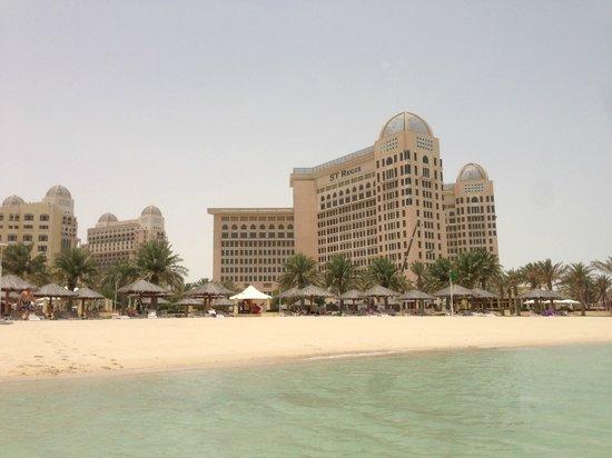 InterContinental Doha: La spiaggia vista dal mare