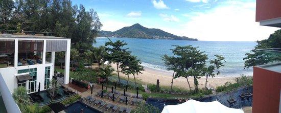 Novotel Phuket Kamala Beach : Panorama from our room