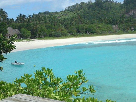 North Island Seychelles: the beach