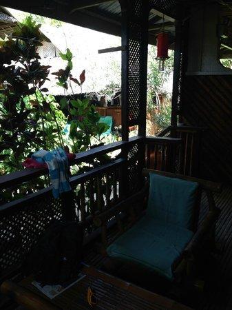 Frendz Resort and Hostel Boracay: интимный уголок или вид с веранды