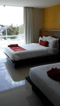 Hotel El Espanol Paseo de Montejo: В номере