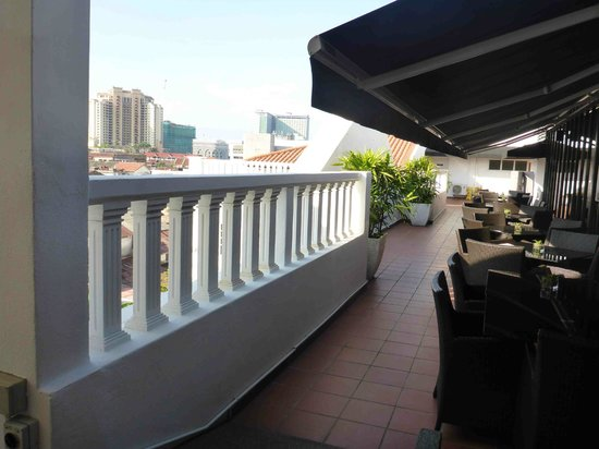 The Sterling Boutique Hotel Melaka: roof bar