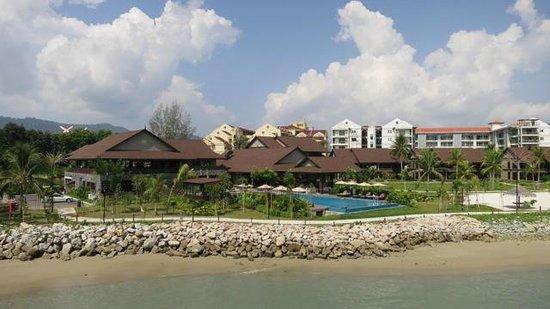 Langkawi Lagoon Resort : hotel grounds