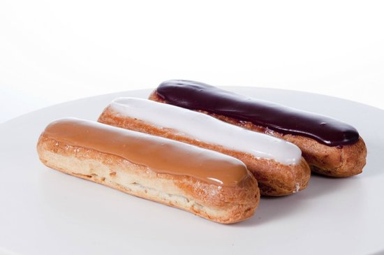 Courcelles patisserie: Nos Eclairs