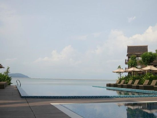 Langkawi Lagoon Beach Resort: infinity pool