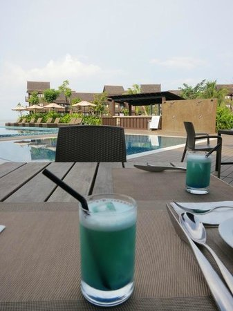 Langkawi Lagoon Beach Resort: welcome drink