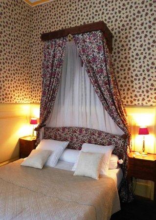 Chateau du Val d'Arguenon : notre chambre Diane